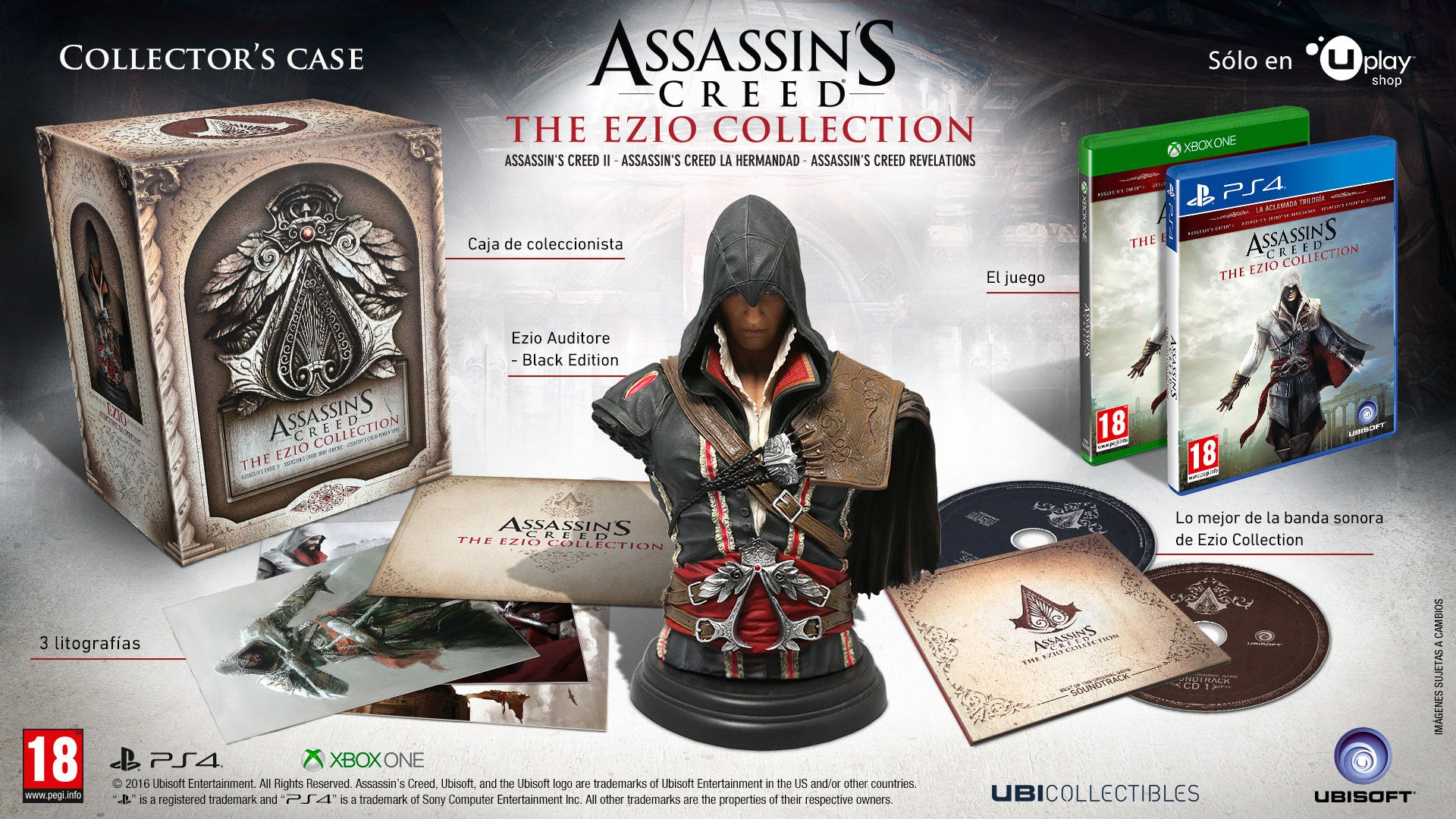 Assassin's Creed анонс The Ezio Collection