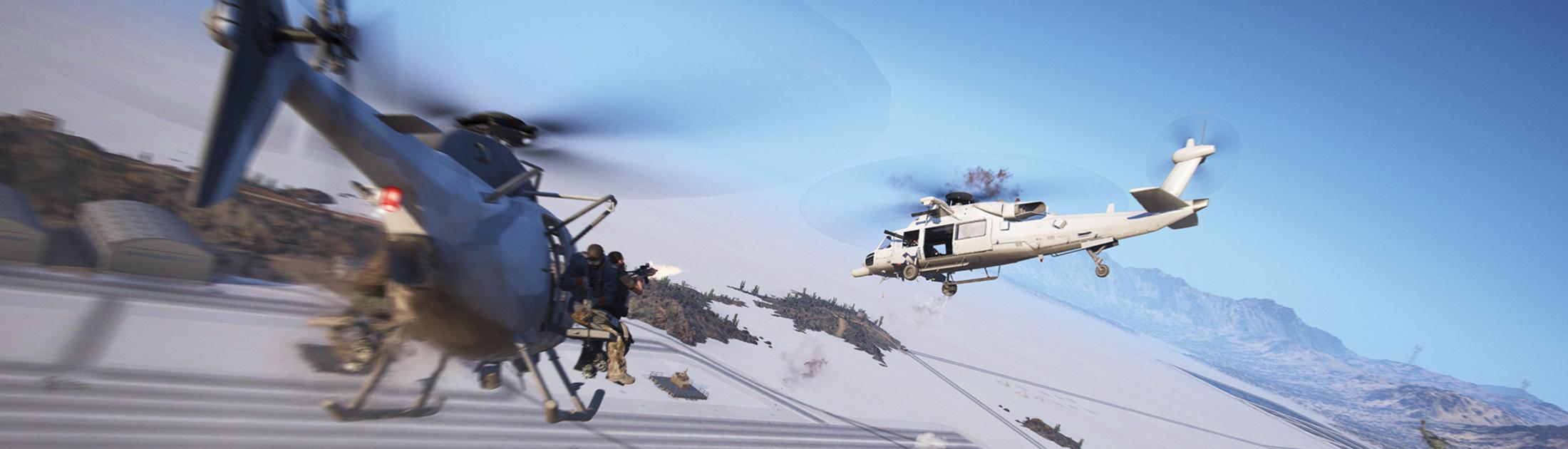 Ghost Recon: Wildlands — в 6 обновлении улучшено управление вертолётом