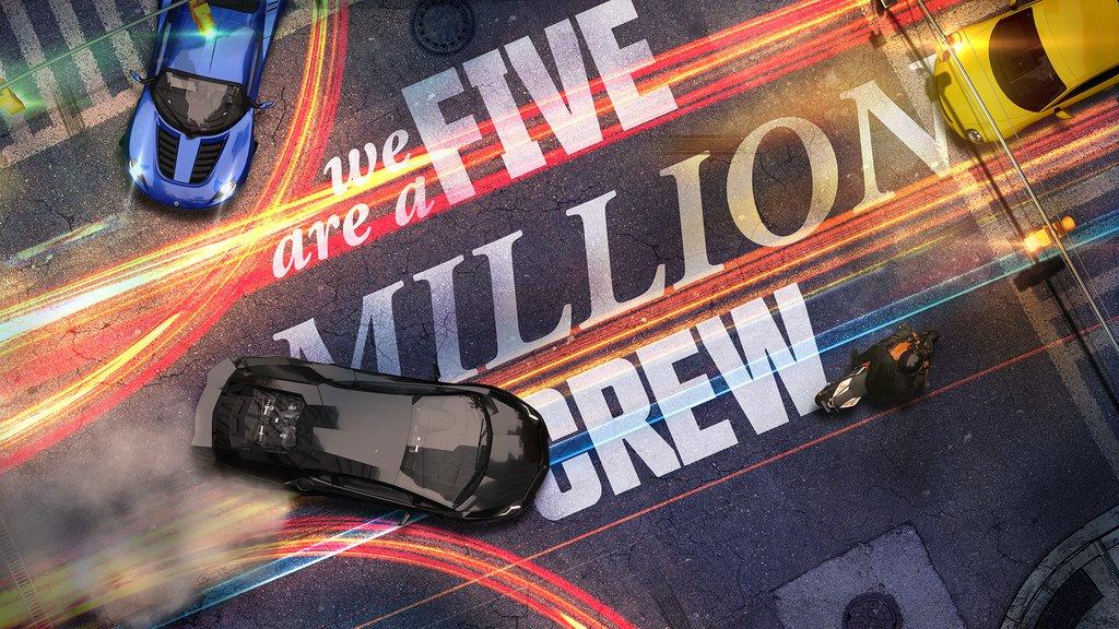 5 миллионов игроков в The Crew
