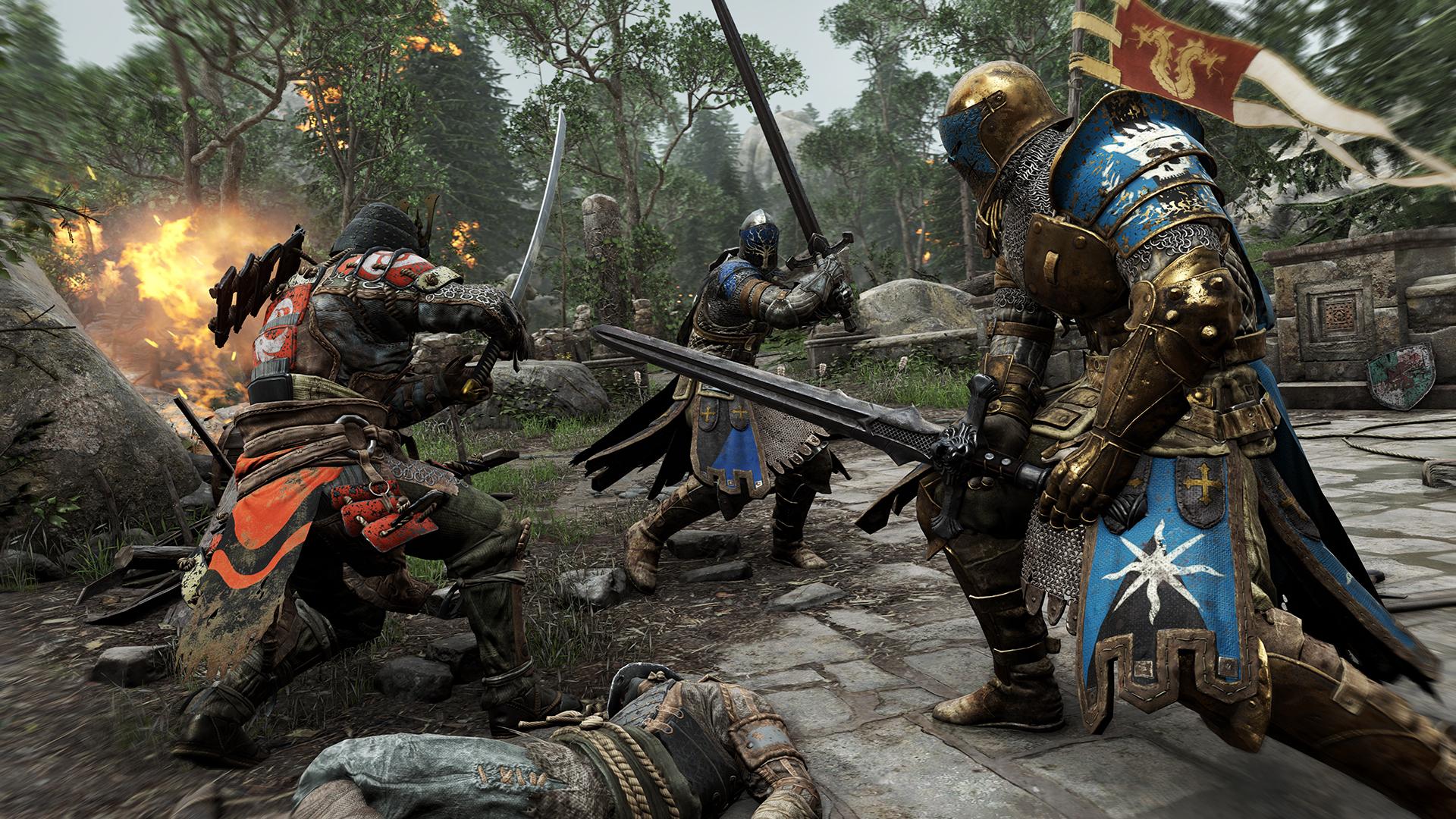 Ubisoft тестирует выделенные сервера в For Honor