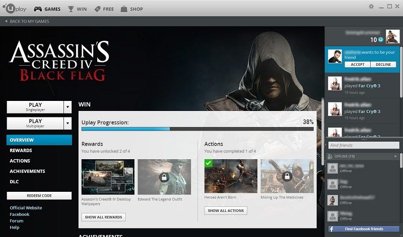 The history of Uplay PC development