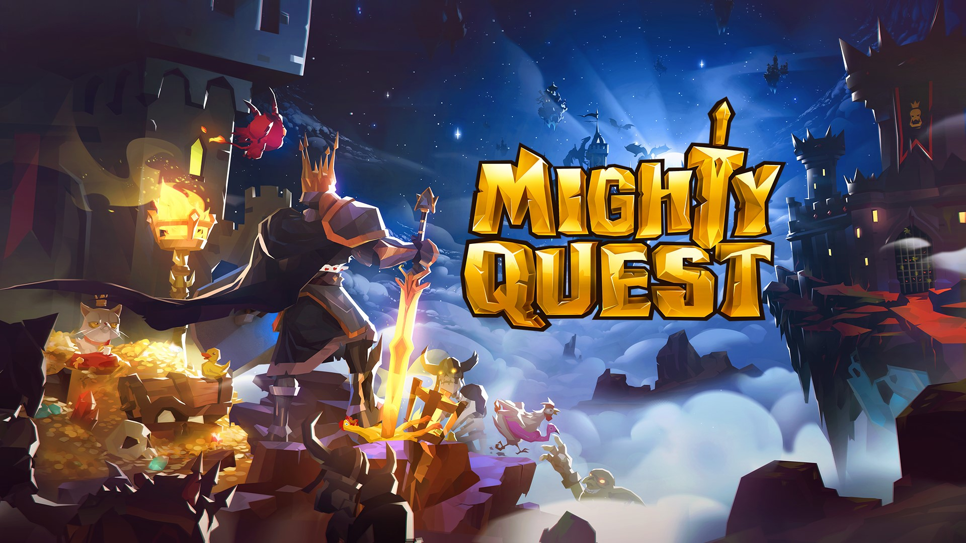 The Mighty Quest for Epic Loot вышла на iOS и Android